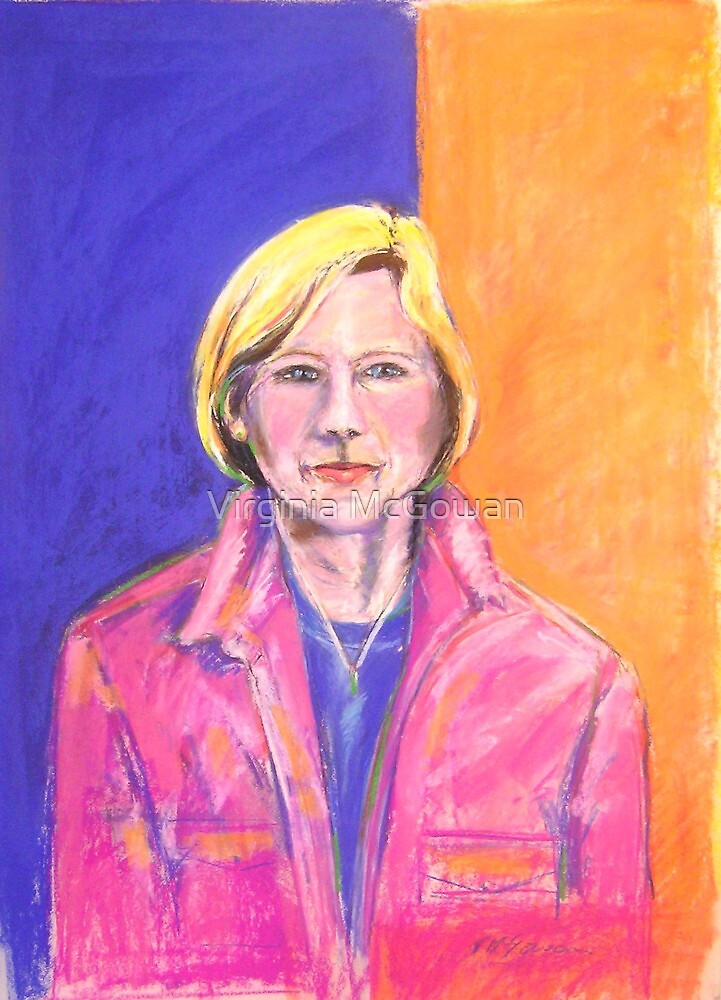 Portrait of Marianne # 2 by Virginia McGowan