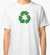 Recycle Sign Gifts & Products Classic T-Shirt