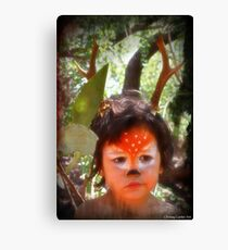 Forrest the fawn 2 Canvas Print