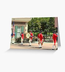 American Fife and Drum Corps. Greeting Card