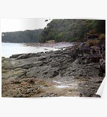 Rocky Shores - Nelson's Beach 2 Poster