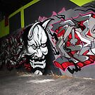 Scary Face Graffiti by PPPhotoArt