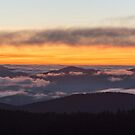 After Glow Sunset - Great Smoky Mountains National Park, Tennessee by Jason Heritage