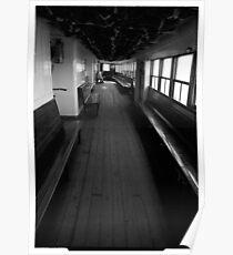 The Ongiara - interior decks 1969 Poster
