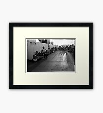 A trip to the Toronto Islands 1969 Framed Print