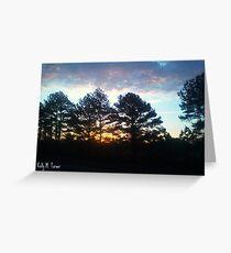 Plein Air Horizon Greeting Card