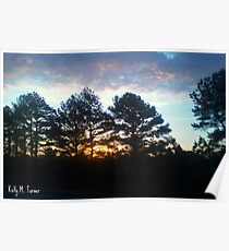 Plein Air Horizon Poster