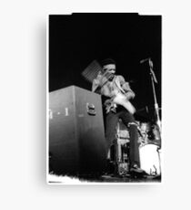 Jimi at the 03:05:69 show at Maple Leaf Gardens Canvas Print