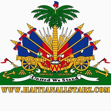 Haitian Coat of Arms  by Haitianallstarz
