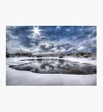 White Bright Photographic Print