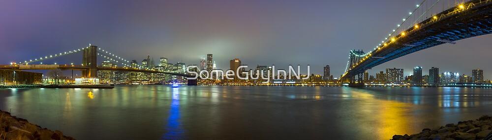 A Mist Descends on Manhattan by SomeGuyInNJ
