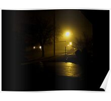 Distant foghorns in a pea soup fog Poster