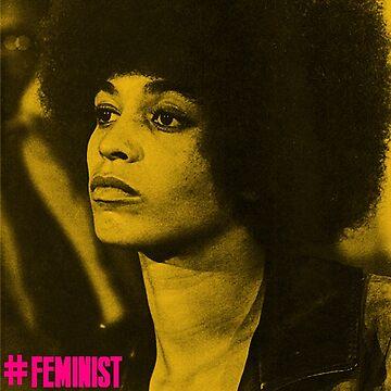 Angela Davis- Feminist by jenniferlothian