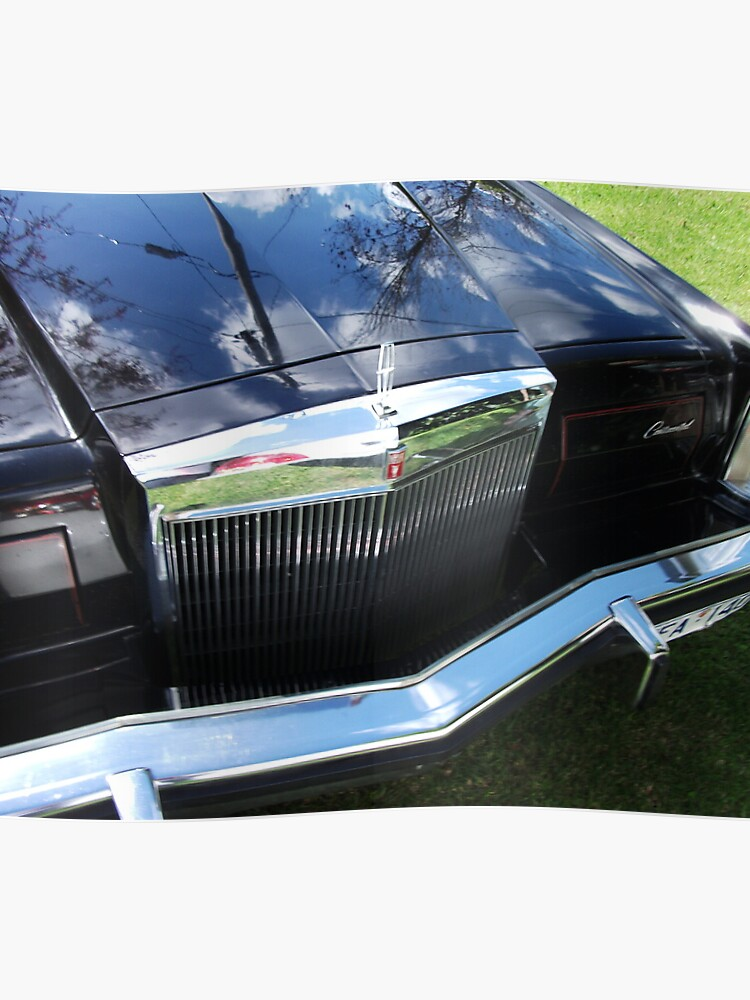 1978 Lincoln Continental Mark V Grill | Poster