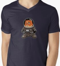 Go for the eyes Boo!! RAGHHhhhhhh Men's V-Neck T-Shirt