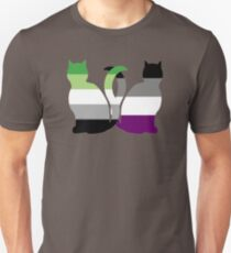 Aro Ace Pride Cats Unisex T-Shirt