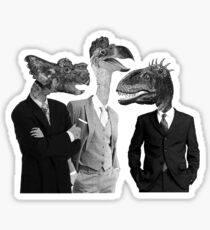The Saurus Society - No Extinction Theory Conversation Sticker