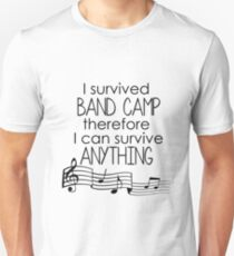 I Survived Band Camp Unisex T-Shirt