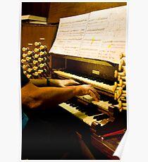 0353 Organist Poster