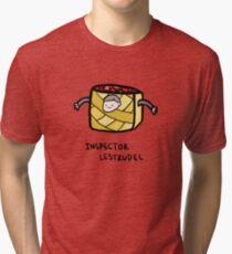 Inspector Lestrudel Tri-blend T-Shirt