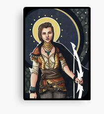 Fantasy Archer Canvas Print