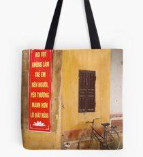 Peddle Power Tote Bag