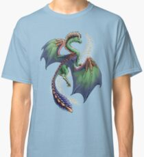 """""""Dragon of Summer"""" floating version  Classic T-Shirt"""