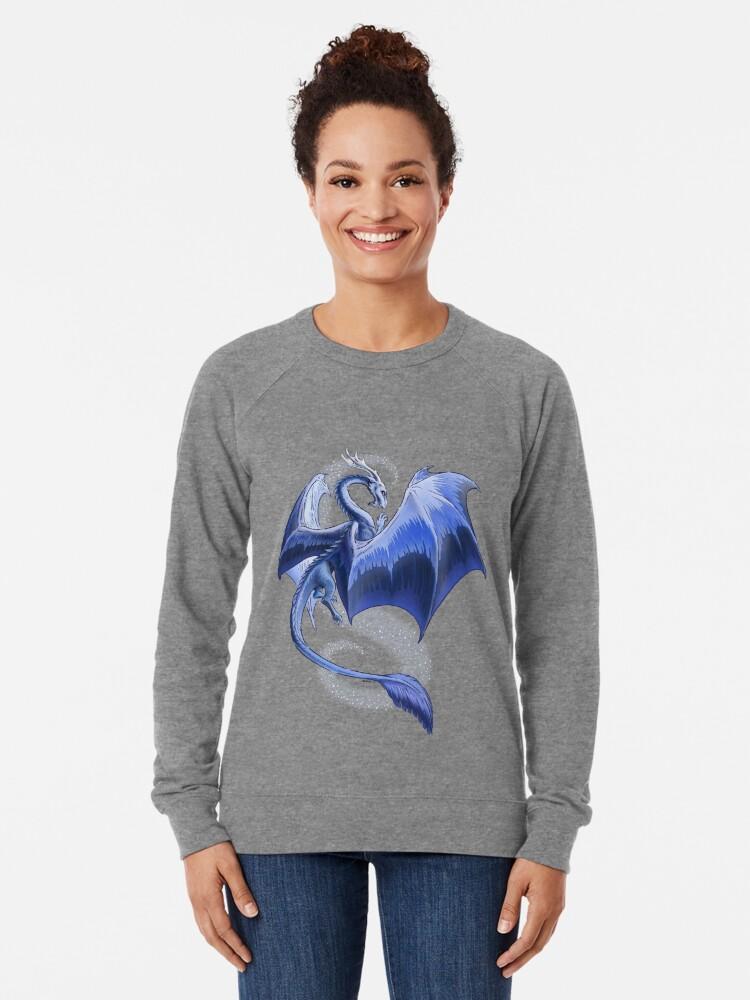 Alternate view of The Dragon of Winter Lightweight Sweatshirt