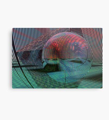 Relativity of a sphere // Calculus Metal Print