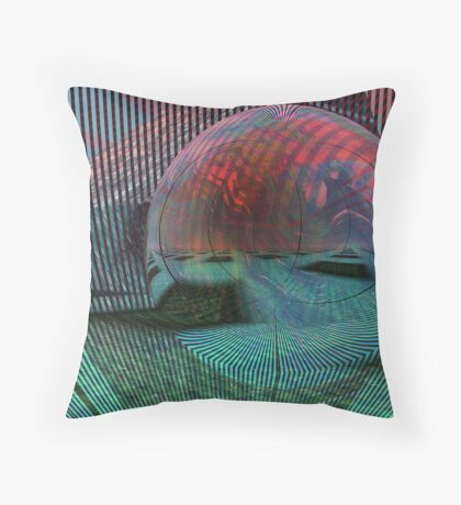 Relativity of a sphere // Calculus Throw Pillow