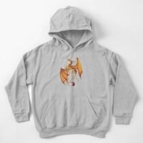 Dragon of Autumn Kids Pullover Hoodie
