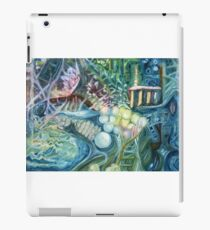 Letting go of barriers iPad Case/Skin