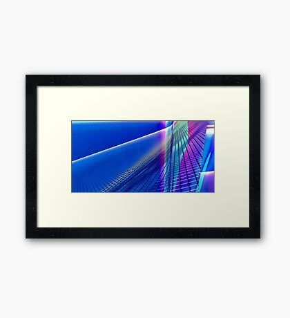 Blue Hues Framed Print