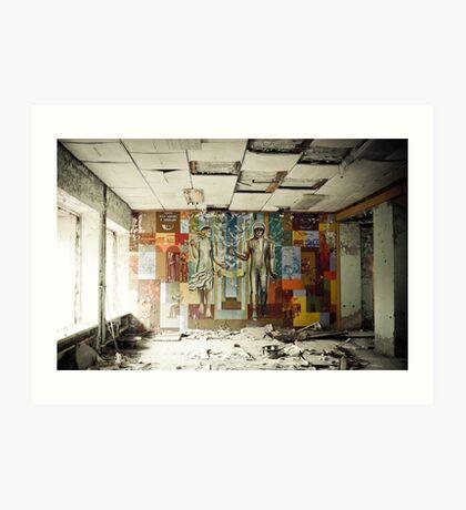 Space Age Dreams ~ Pripyat  Art Print