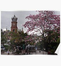 Springtide In Puerto Vallarta - Pimavera En Puerto Vallarta Poster