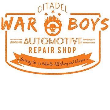 War Boys Auto Repair by johnbjwilson