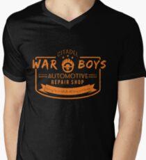 War Boys Auto Repair Men's V-Neck T-Shirt