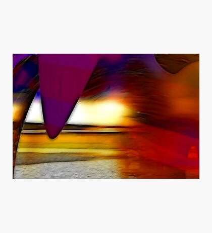 The irresistible sound of colours Photographic Print