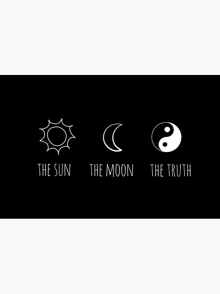 The Sun, The Moon, The Truth by grxcelessly
