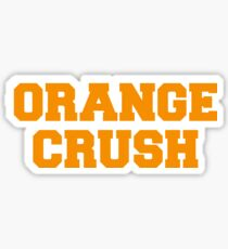 Orange Crush Sticker