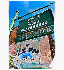 Willie Wong Playground Poster