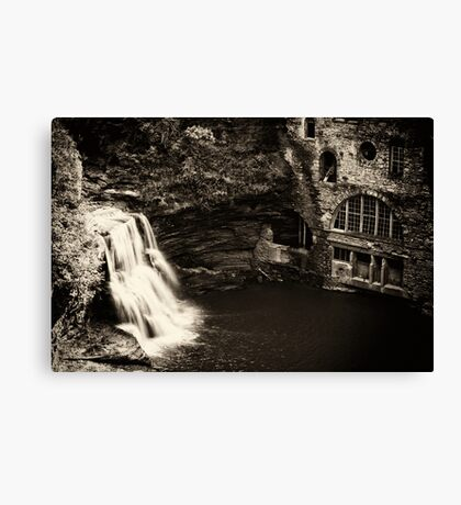 The Old Power Plant Canvas Print