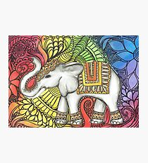 Elephant Charm Photographic Print