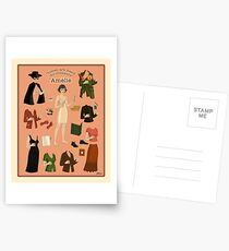 Amelie Poster Doll Postcards