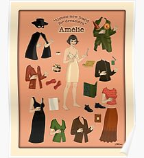 Amelie Poster Doll Poster