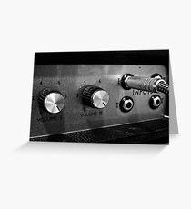 Marshall Amp #1 Greeting Card