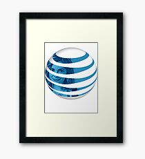 The AT&T of People Framed Print