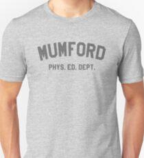 Mumford Phys Ed Dept T-Shirt