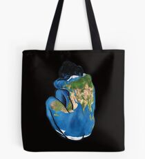 """Great Artists Steal"" Pablo Picasso Inspired Blue Earth Nude Tote Bag"