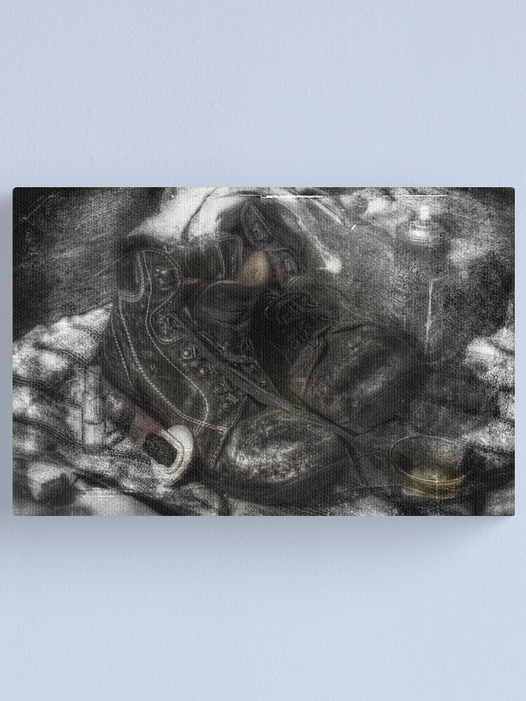 Alternate view of Cleaning time Canvas Print